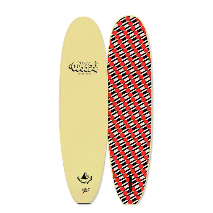 "Catch Surf Plank Barry McGee 7'6""-White"