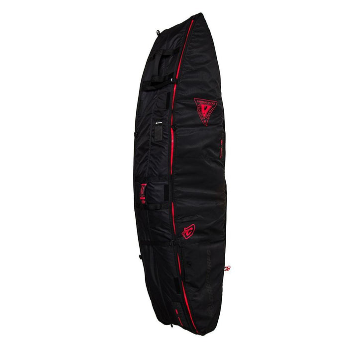 Creatures Shortboard Multi Tour Bag-Black/Red-6'3""