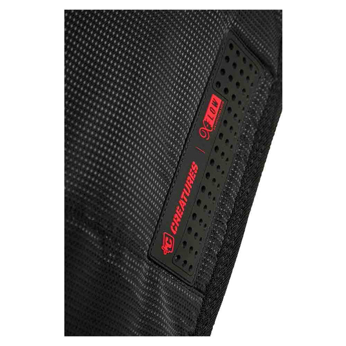 Creatures Shortboard Multi Tour Bag-Black/Red-7'1""