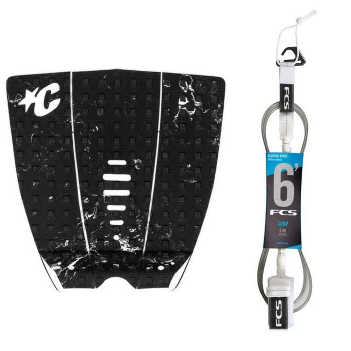 Creatures Mick Pro Traction Pad with FCS Essentials Leash-6'