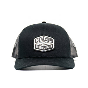 REAL Shred Supply Hat-Black
