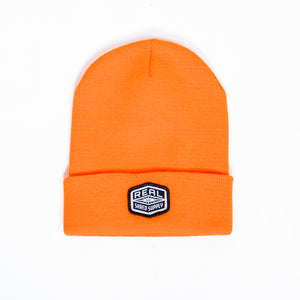 REAL Shred Supply Beanie Beanie-Blaze Orange