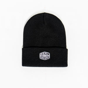 REAL Shred Supply Beanie Beanie-Black