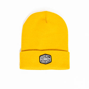 REAL Shred Supply Beanie Beanie-Camel