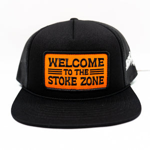 REAL Stoke Zone Hat-Black