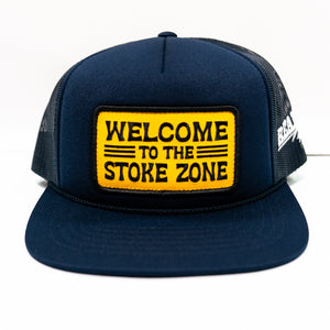 REAL Stoke Zone Hat-Navy
