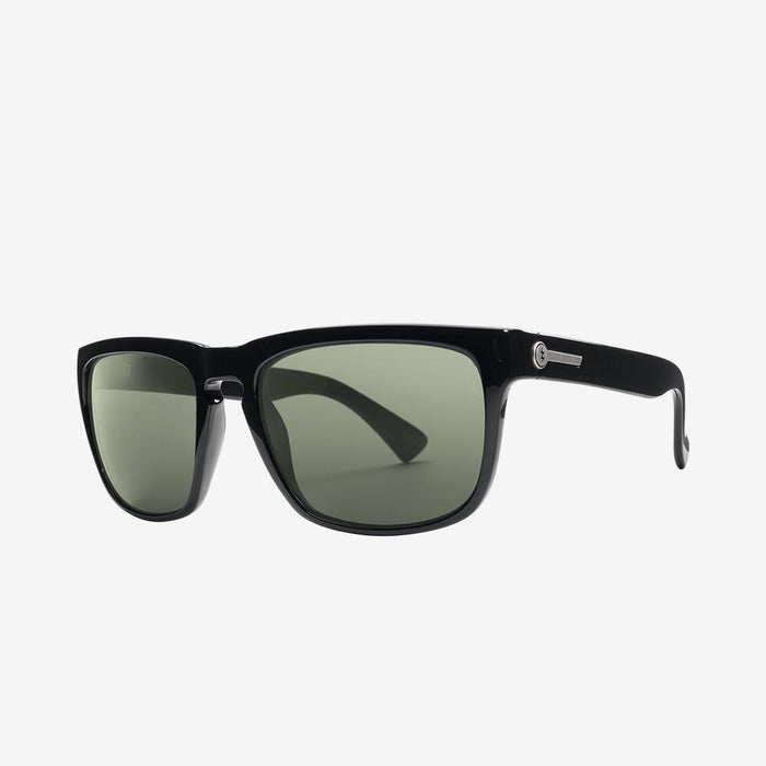 Electric Knoxville Sunglasses-Gloss Black/Grey Polar