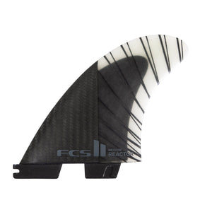 FCS Reactor PC Carbon Tri Fin Set-Black/Charcoal-Medium