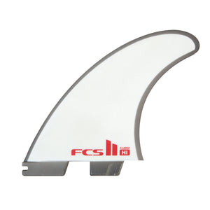 FCS Harley Longboard PC Tri Fin Set-Cool Grey-X-Large
