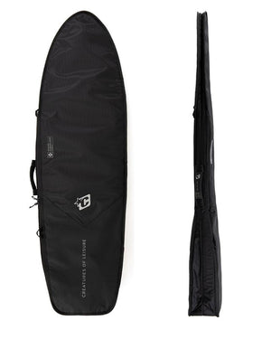 Creatures Fish Day Use DT2 Boardbag-Black Silver