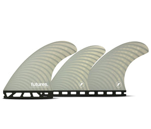 Futures Firewire Dan Mann Tri/Quad Fin Set-Light Gray-Medium
