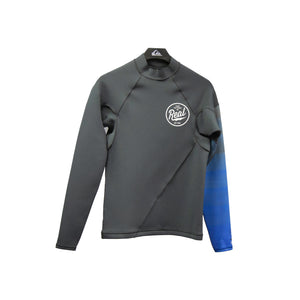 Quiksilver 1mm Syncro L/S Top-Gun Metal/HV Royal/White