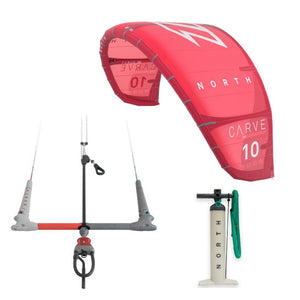 REAL Complete North Kite Package-Carve 12m