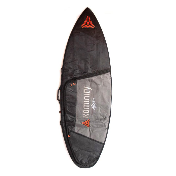 Komunity Single Armor Shortboard Boardbag-7'0""