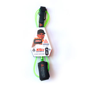 Komunity Ultimate Super Comp Leash-Lime-6' x 5.2mm