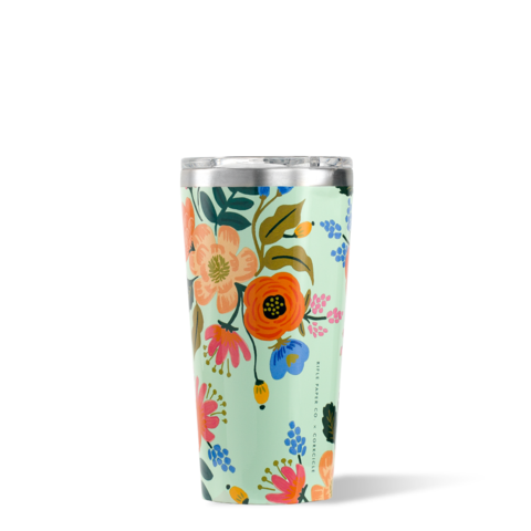 Corkcicle 16 oz Tumbler-Rifle Paper Lively Floral