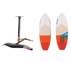 2019 Naish Thrust Surf X-Large with Naish Comet 5'10""