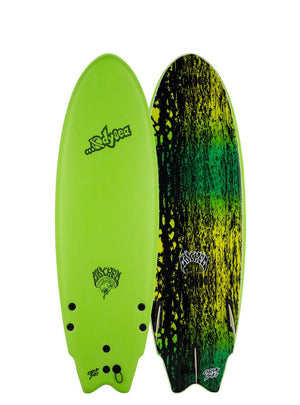 "Catch Surf Odysea X Lost RNF Soft Top 6'5""-Green"