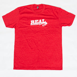 REAL Team 2.0 Tee-Red
