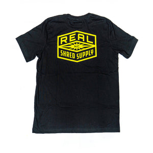 REAL Shred Supply Tee-Black
