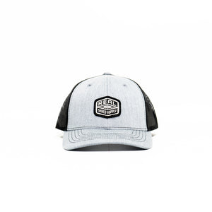 REAL Youth Shred Supply Hat-Heather Grey/Black
