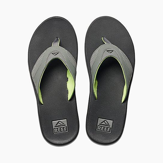 79365791d Reef Fanning Sandal-Black Green — REAL Watersports