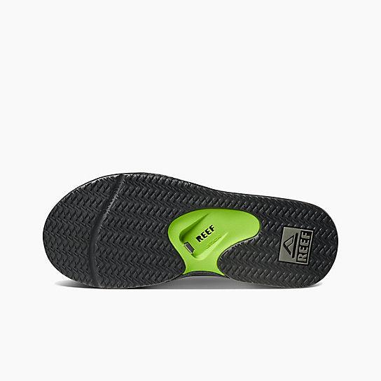 d5c34075266e Reef Fanning Sandal-Black Green — REAL Watersports