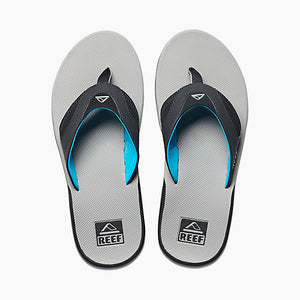 Reef Fanning Sandal-Light Grey/Blue