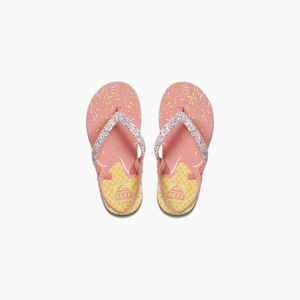 Reef Little Stargazer Prints Sandal-Ice Cream