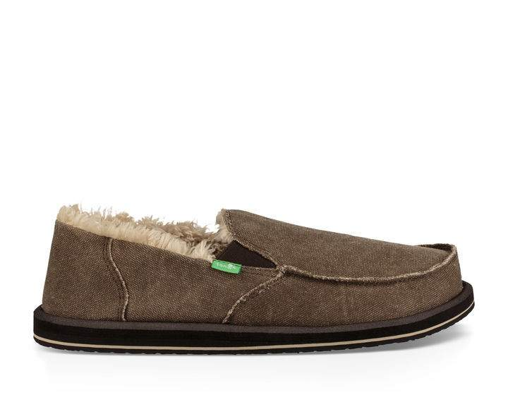 Sanuk Vagabond Chill Shoe-Brown