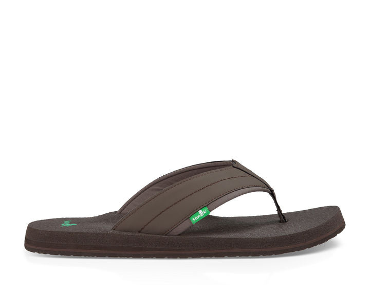 Sanuk Beer Cozy 2 Sandal-Dark Brown