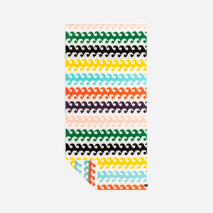 Slowtide Out The Back Towel-Multi