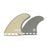 Futures EA Control Series Quad Fin Set-Sandy-Medium