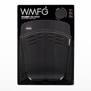 WMFG Stubby 3.0 Six Pack Grooved Traction Pad-Black