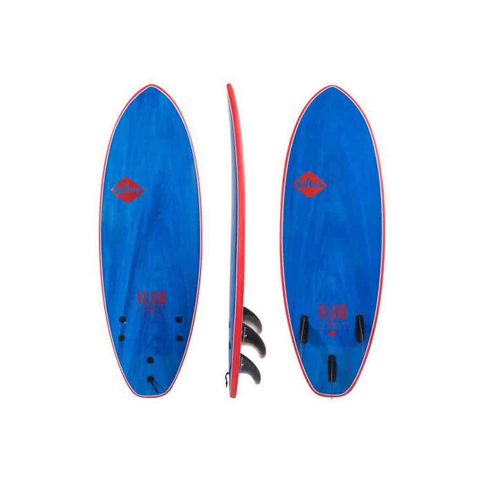 "Softech Eric Geiselman Flash 5'7""-Blue Marble"