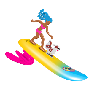 Surfer Dudes-Surf City Sally & Malibu