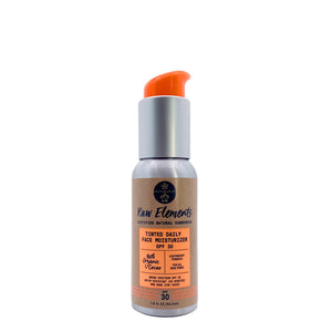 Raw Elements Daily Face Tint Pump Sunscreen-SPF 30+