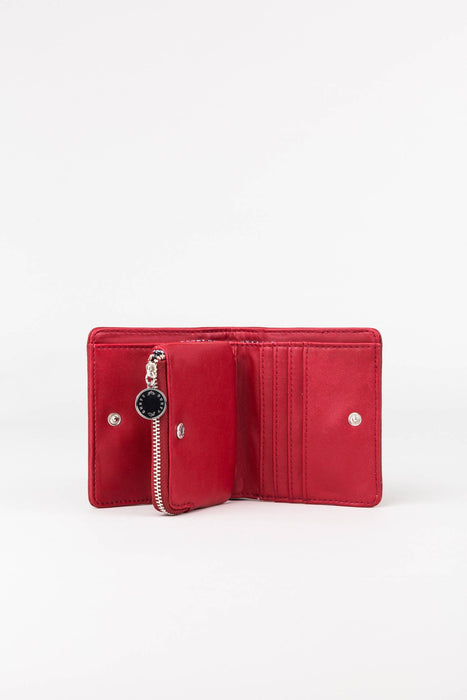 Rusty Dua Coin Wallet-Biking Red