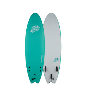 "Wave Bandit Performer Soft Top 6'6""-Turquoise"