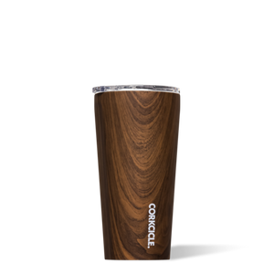 Corkcicle 16 oz Tumbler-Walnut Wood