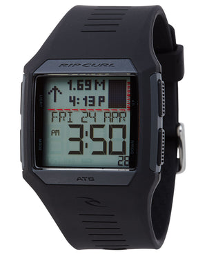 Rip Curl Rifles Tide Watch-Black