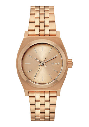 Nixon Medium Time Teller Watch-All Rose Gold