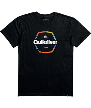 Quiksilver Hard Wired Youth Tee-Black