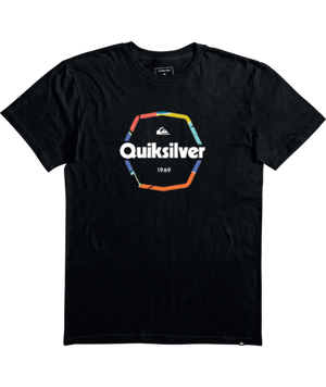 Quiksilver Hard Wired Boy Tee-Black