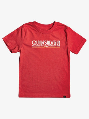 Quiksilver Like Gold Boy Tee-High Risk Red