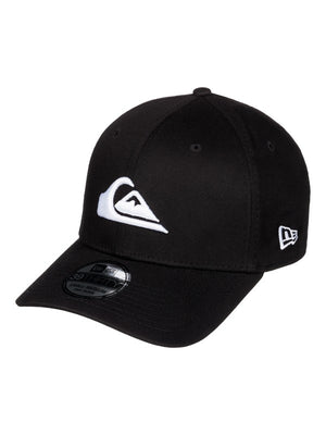 Quiksilver Mountain & Wave Black Hat-Black/White
