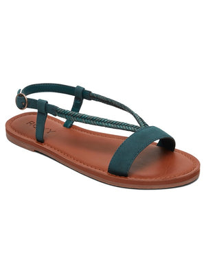 Roxy Kitty Sandal-Teal
