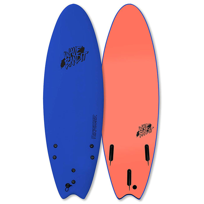 "Wave Bandit Performer Soft Top 6'6""-Blue"