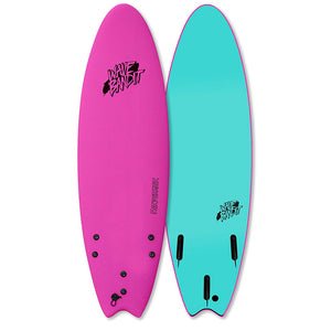 "Wave Bandit Performer Soft Top 6'0""-Pink"