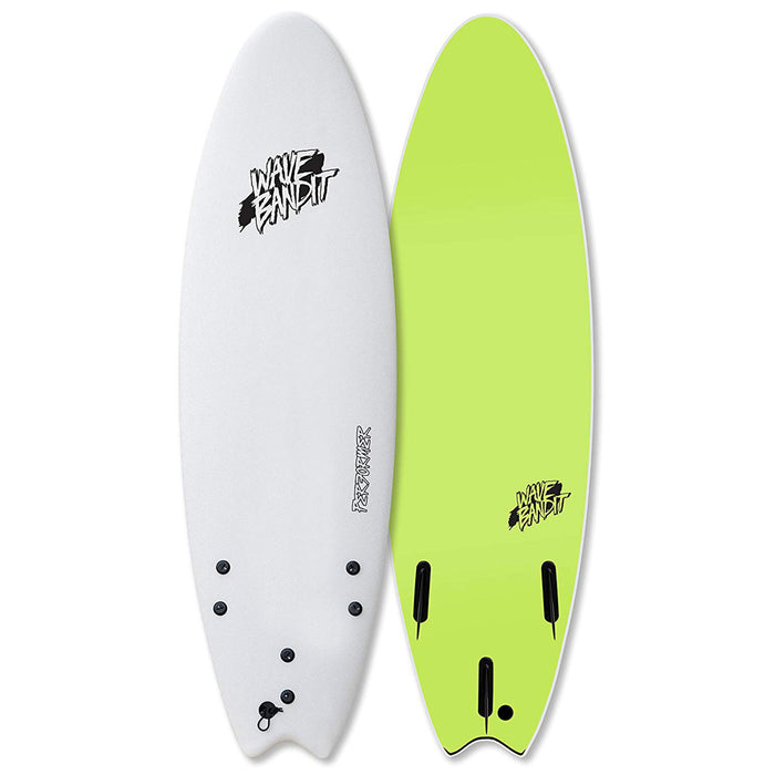 "Wave Bandit Performer Soft Top 6'6""-White"
